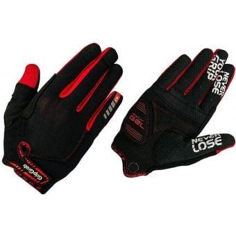 GripGrab SuperGel XC Gloves Black/Red