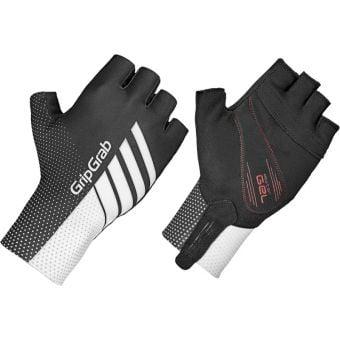 GripGrab Aero TT Raceday Gloves White/Black Large