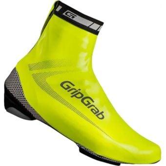 GripGrab RaceAqua Waterproof Shoe Covers Hi-Vis Yellow