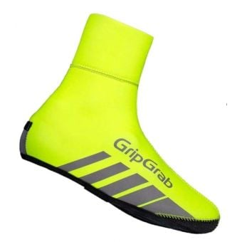 GripGrab RaceThermo Waterproof Winter Shoe Covers Hi-Vis Yellow X-Large