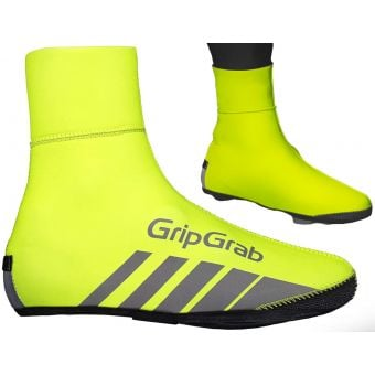 GripGrab RaceThermo Waterproof Winter Shoe Covers Hi-Vis Yellow