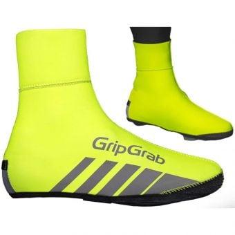 GripGrab RaceThermo Waterproof Winter Shoe Covers Hi-Vis Yellow