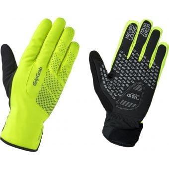 GripGrab Ride Waterproof Winter Gloves Hi-Vis Yellow