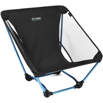 Helinox Ground Chair Black with Blue Frame