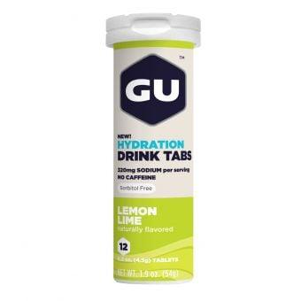 GU Brew Electrolyte Drink Tablets Lemon Lime 12 Tablets