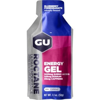 GU Roctane Endurance Energy Gel Blueberry Pomegranate