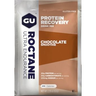 GU Roctane Ultra Endurance Protein Recovery Drink Mix Chocolate Smoothie 62g