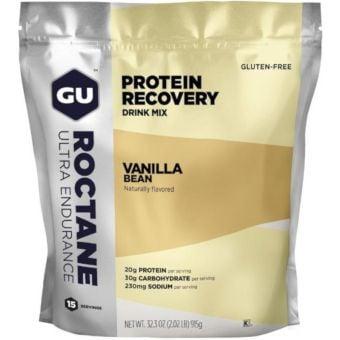 GU Roctane Ultra Endurance Protein Recovery Drink Mix Vanilla Smoothie 915g