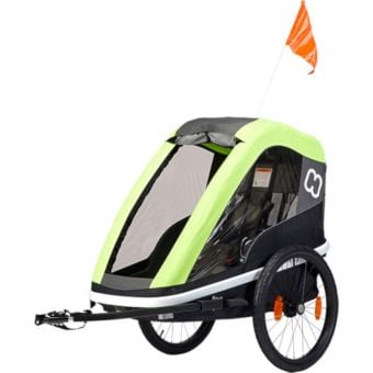 Hamax Avenida One Seat Child Bike Trailer/Stroller Lime