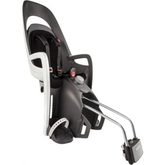 Hamax Caress Baby Seat With Lockable Bow Bracket Black and White