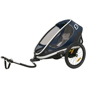 Hamax Outback One Child Trailer w/Recline Blue/White