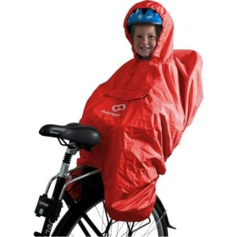 Hamax Rain Child's Poncho Red