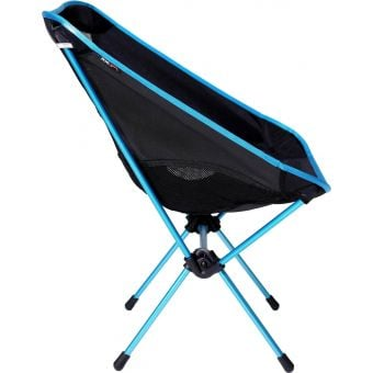 Helinox Chair One Large Lightweight Camping Chair Black/Blue Frame Side