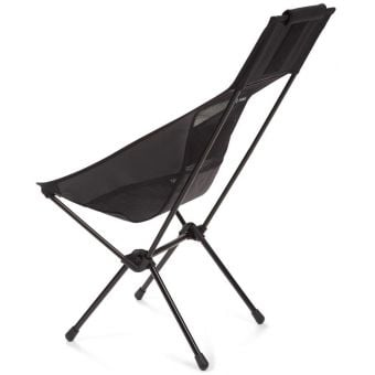 Helinox Sunset Lightweight Camping Chair Blackout/Black Frame Back
