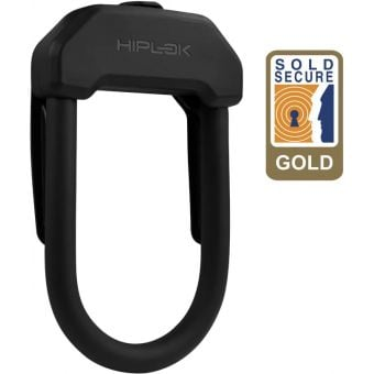 Hiplok DX Maximum Security D Lock Black