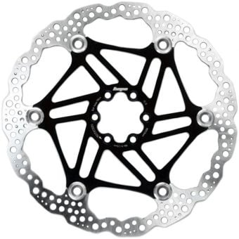 Hope 203mm Floating 6-Bolt Disc Rotor Black