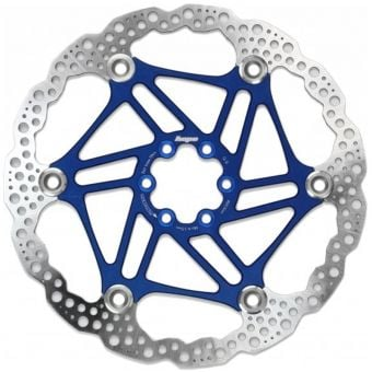 Hope 203mm Floating 6-Bolt Disc Rotor Blue