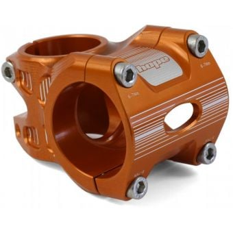 Hope AM/Freeride 35x35mm 0° Stem Orange
