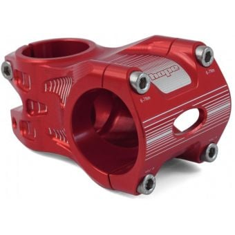 Hope AM/Freeride 35x50mm 0° Stem Red