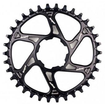 Hope Spiderless Retainer Narrow Wide Chainring Black
