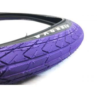 """Innova 20"""" x 2.25"""" Black Sidewall BMX Tyre Purple"""
