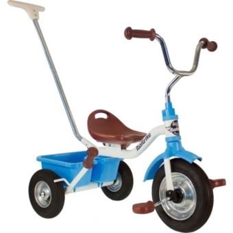 "Italtrike 12"" Pneumatic Tyres Tricycle Monaco Blue"