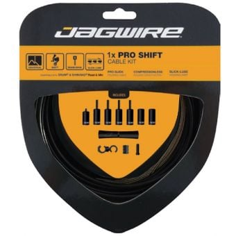 Jagwire 1x Pro Shift Cable Kit Black