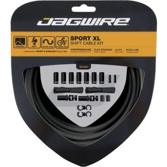 Jagwire 2x Gear Cable Sport Shift Kit