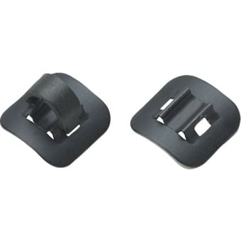Jagwire Stick On Alloy Guides Black (pk 4)