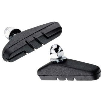 Jagwire Basics Hi-Po BMX Caliper Brake Pads Black/Silver