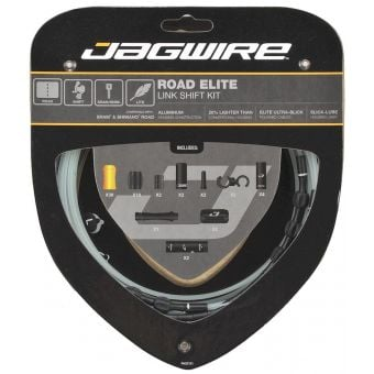 Jagwire Road Elite Link Shift Cable Kit Black for SRAM + Shimano