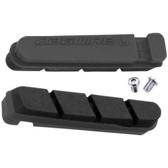 Jagwire Road Pro S Inserts Replacement Brake Pads SRAM/Shimano Black