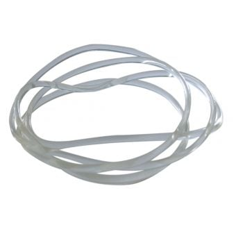 Jet Black R1 Training Rollers Replacement Rubber Band Clear