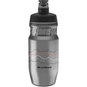 JetBlack 600ml Icon Water Bottle Smoke/Black