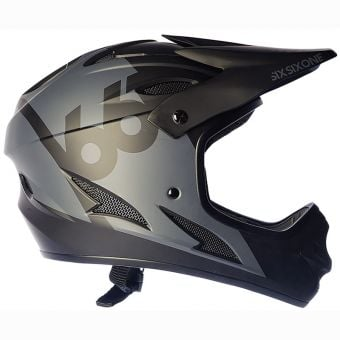 661 Comp Full Face Helmet Black