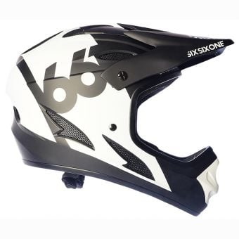 661 Comp Full Face Helmet White