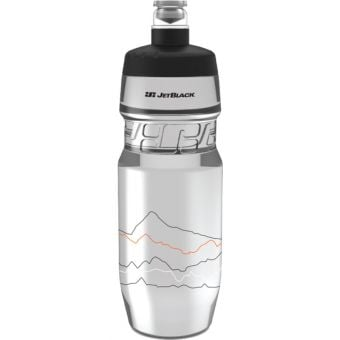 JetBlack 710ml Icon Water Bottle Clear/Black