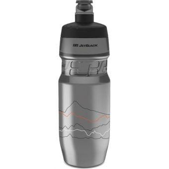 JetBlack 710ml Icon Water Bottle Smoke/Black