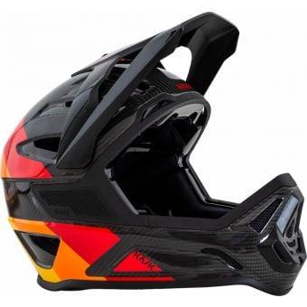 KASK Defender Full Face Carbon MTB Helmet Black/Orange
