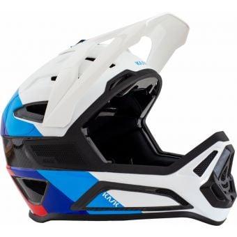 KASK Defender Full Face Carbon MTB Helmet White/Blue