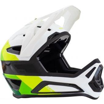 KASK Defender Full Face Carbon MTB Helmet White/Green