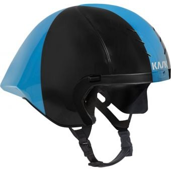 KASK Mistral Helmet no Visor Black/Light Blue