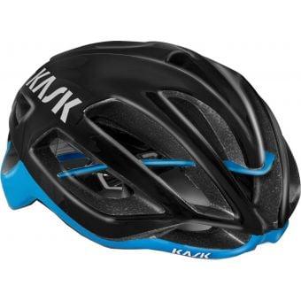 KASK Protone Road Helmet Black/Light Blue