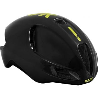 KASK Utopia Road Helmet Black/Yellow Fluro
