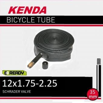 """Kenda 12x1.75/2.25"""" 35mm Schrader Valve Tube"""