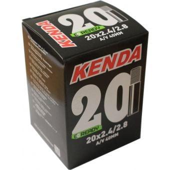 """Kenda 20x2.40/2.80"""" 40mm Schrader Valve Tube"""