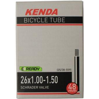 """Kenda 26x1.00-1.50"""" 48mm Schrader Valve Tube"""