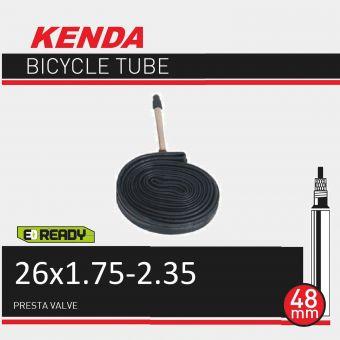 """Kenda 26x1.75/2.35"""" 48mm Presta Valve Tube"""