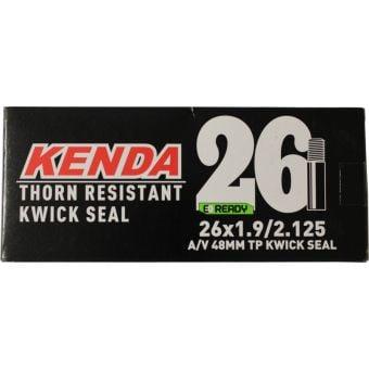 "Kenda 26x1.9/2.125"" 48mm Thorn Resistant & Kwickseal Schrader Valve Tube"
