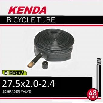 """Kenda 27.5x2.0/2.40"""" (650B) 48mm Schrader Valve Tube"""